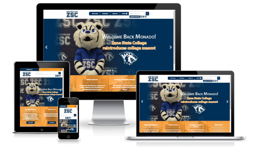 Zane State College - Full Redesign
