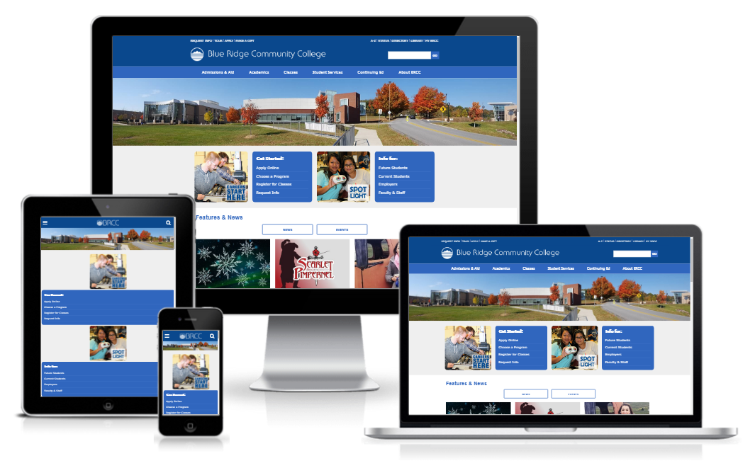 Blue Ridge Community College - Design Refresh