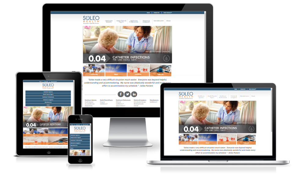 Soleo Health - Design Refresh