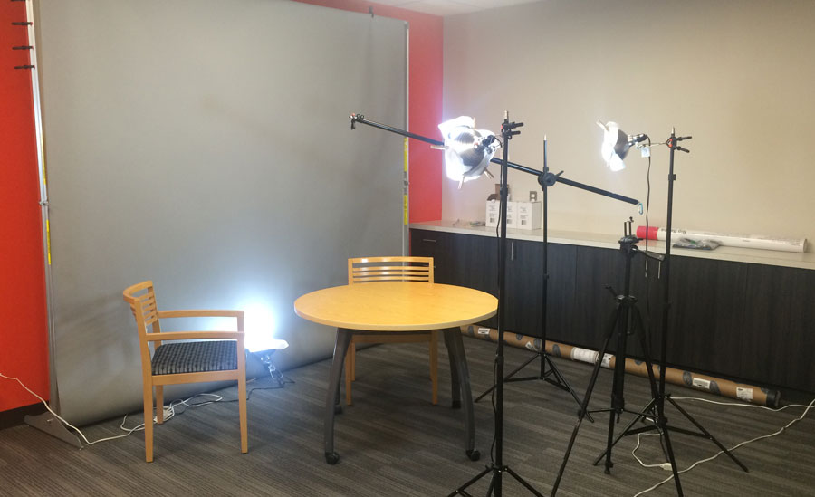 Our video studio setup cost less than $400