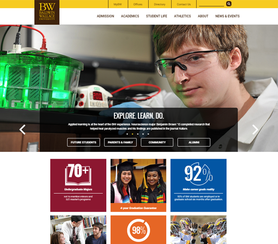 Baldwin Wallace Home Page
