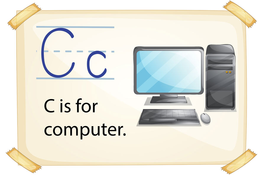 c is for computer