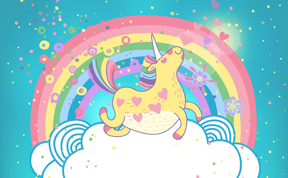 Image result for rainbow unicorns