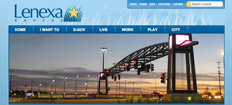 City of Lenexa Website
