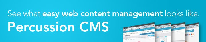 Easy web content management - Percussion CMS