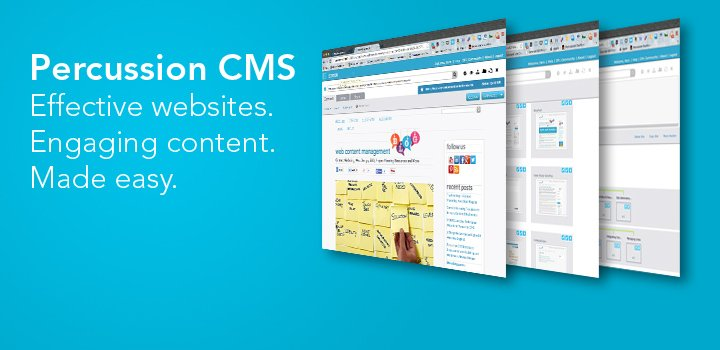 Percussion CMS makes effective content easy