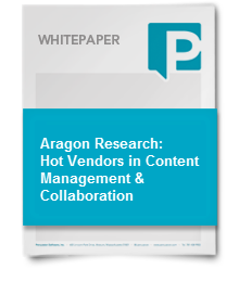 Aragon Research: Hot Vendors in Content Management & Collaboration, 2013